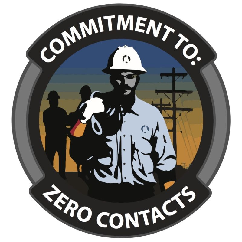 Commitment To Zero Contacts logo