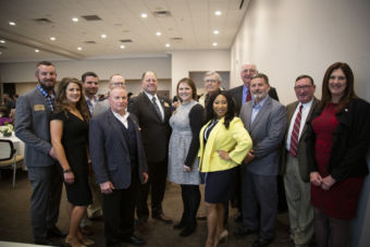 Group of Oklahoma Association of Electric Cooperative staff/board members