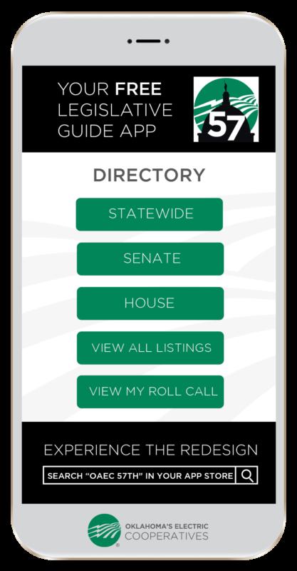 Legislative App graphic