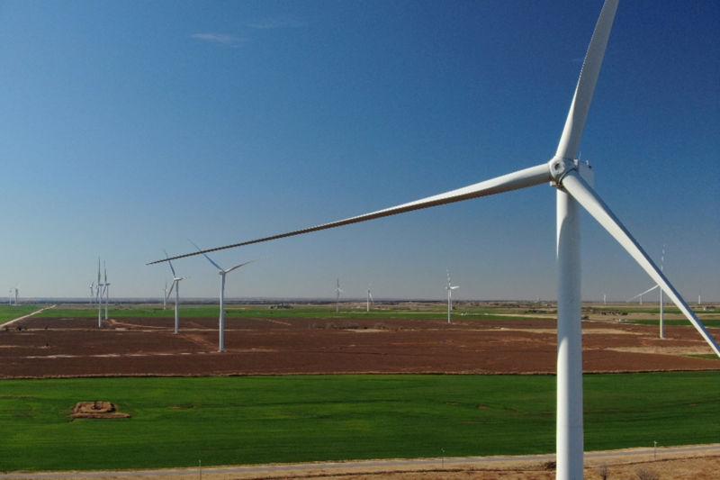 Skeleton Creek Wind Turbines